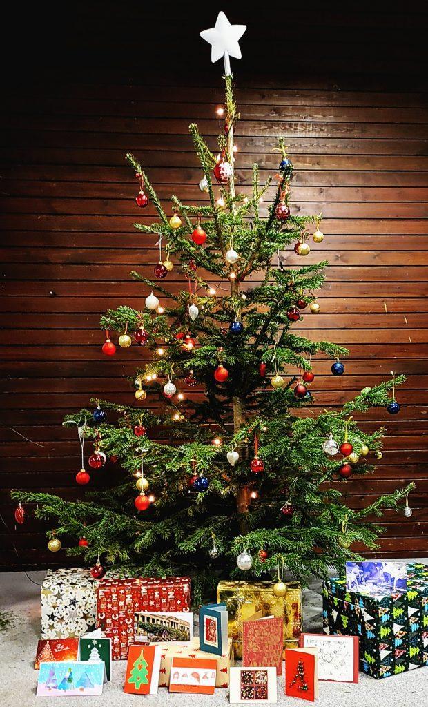Frohe Weihnachten und ein gutes, neues Jahr!